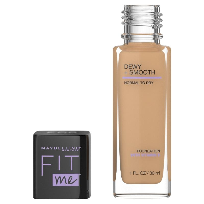 Maybelline Fit Me Dewy Smooth Foundation Natural Buff
