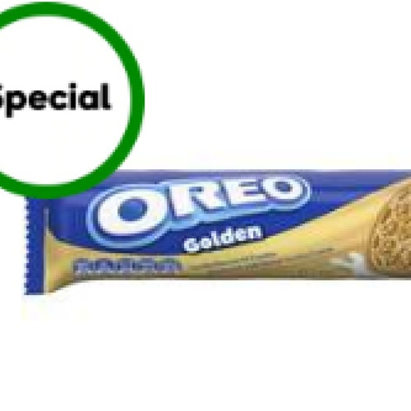 Oreo Cookie Golden 133g