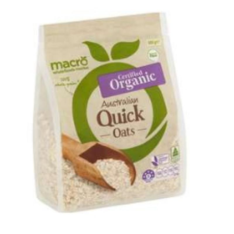 Macro Organic Quick Oats 500g