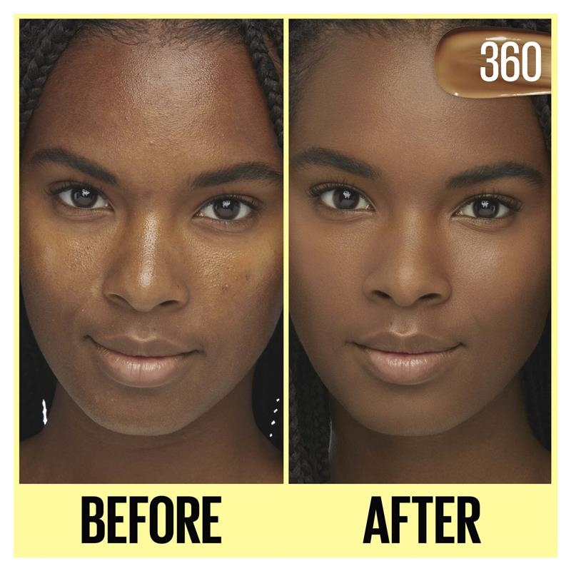 Maybelline Fit Me Tinted Moisturizer 360