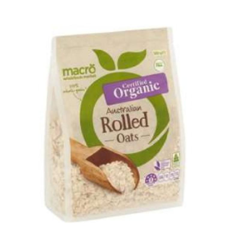 Macro Organic Rolled Oats 500g