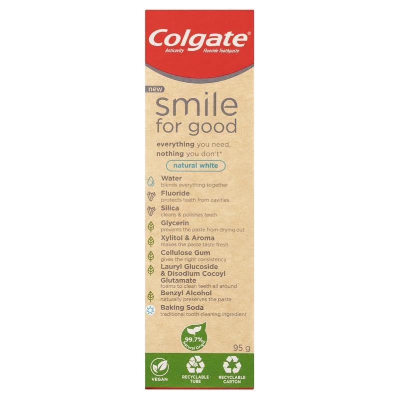 Colgate Toothpaste Smile For Good Baking Soda 95g