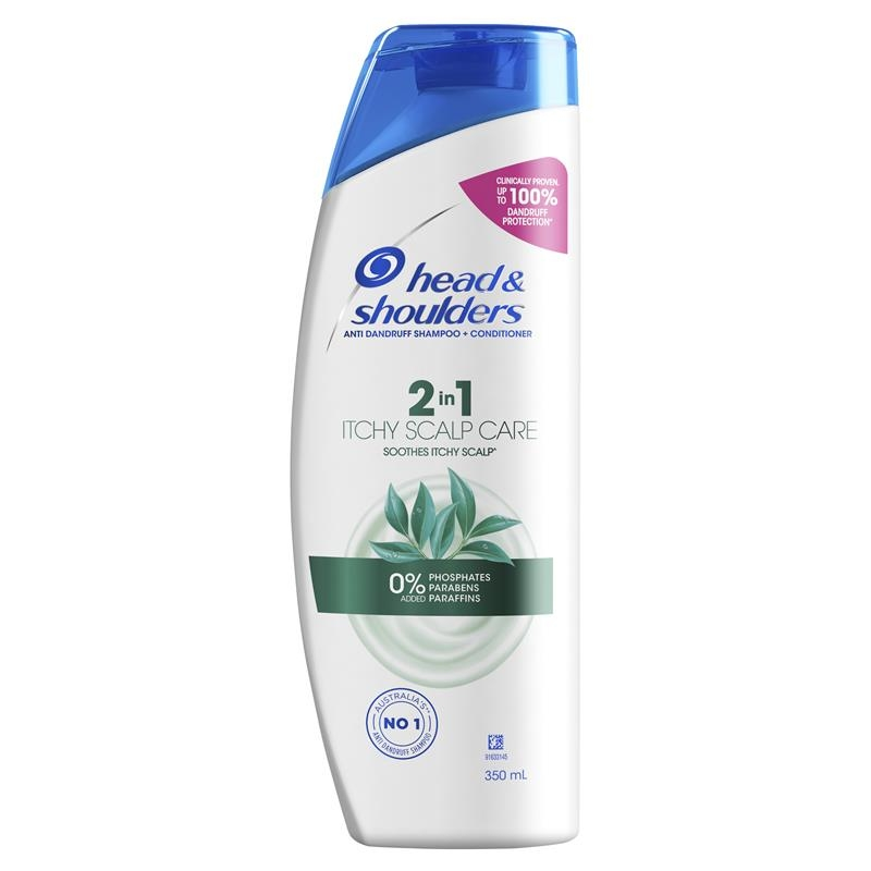 Head & Shoulders Itchy Scalp Care 2in1 Shampoo & Conditioner 350ml