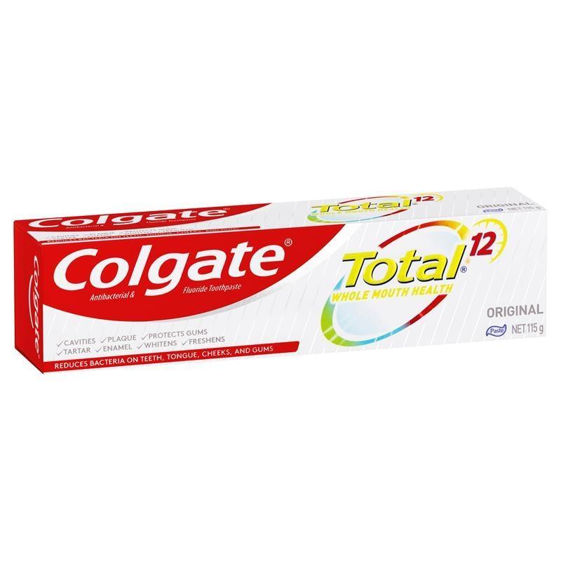 Colgate Total Original Antibacterial Fluoride Toothpaste 115g