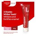 Colgate Optic White Enamel White Sparkling Mint Teeth Whitening Toothpaste with hydrogen peroxide 140g