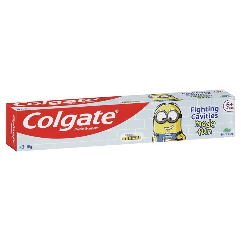 Colgate Minions Kids Toothpaste Mint Gel 110g