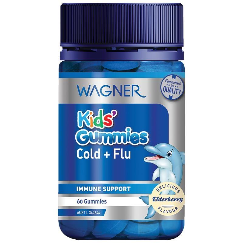 Wagner Kids Gummies Cold & Flu 60 Gummies