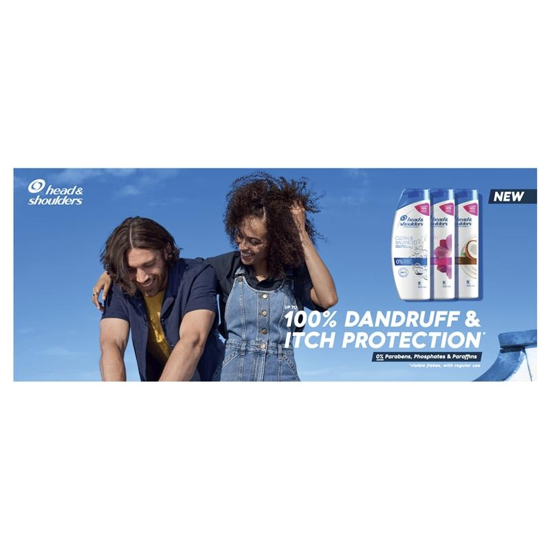 Head & Shoulders Clean & Balanced 2in1 Shampoo & Conditioner 350ml