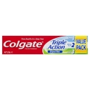 Colgate Triple Action Cavity Protection Fluoride Original Mint Toothpaste Value Pack 220g