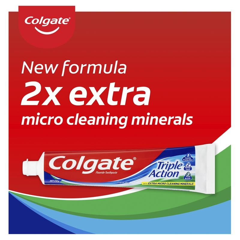 Colgate Toothpaste Triple Action 210g