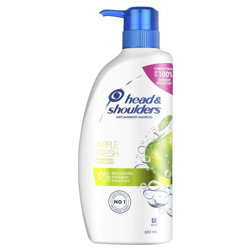 Head & Shoulders Apple Fresh Shampoo 660ml