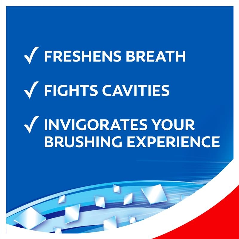 Colgate Max Fresh Breath Toothpaste with Mini Breath Strips Cool Mint 190g