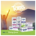 Tom's of Maine Natural Fluoride Free Antiplaque & Whitening Toothpaste Peppermint 113g