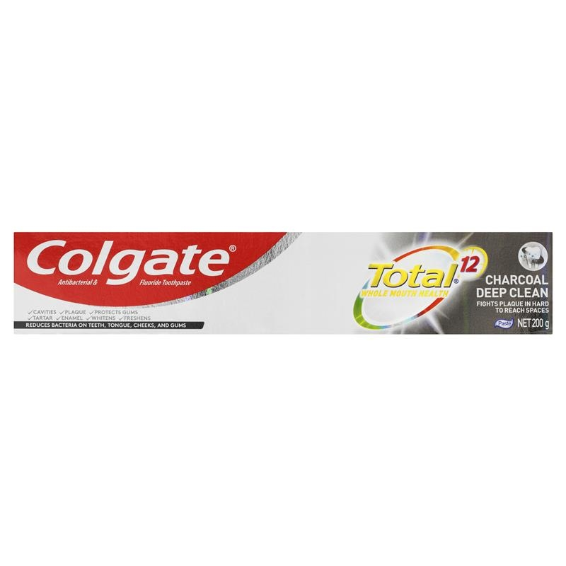 Colgate Toothpaste Total Charcoal 200g
