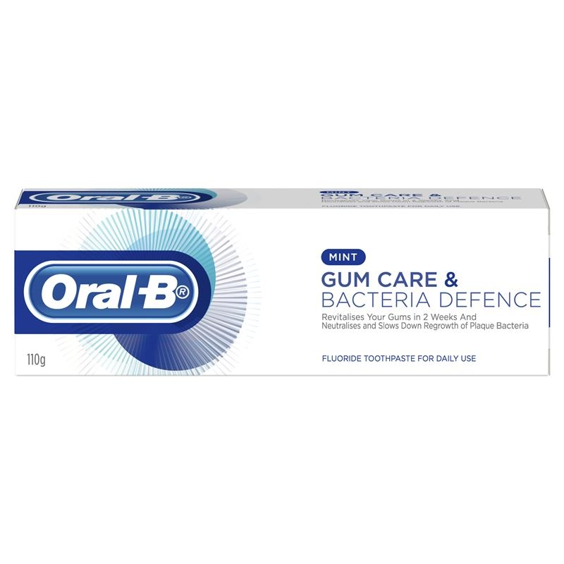 Oral B Toothpaste Gum Care & Bacteria Defence 110g