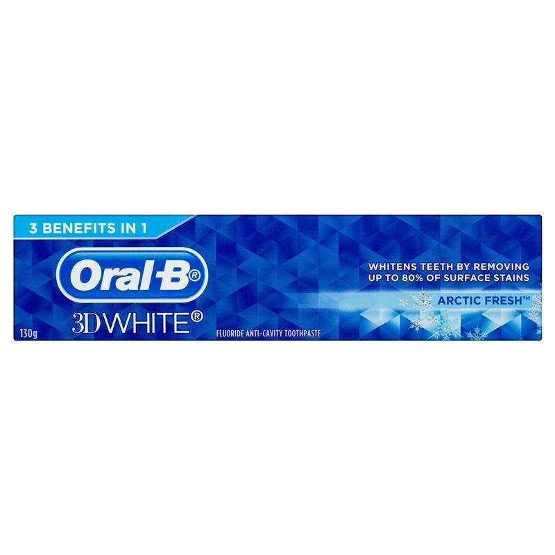 Oral B Toothpaste 3D White Arctic Fresh 130g