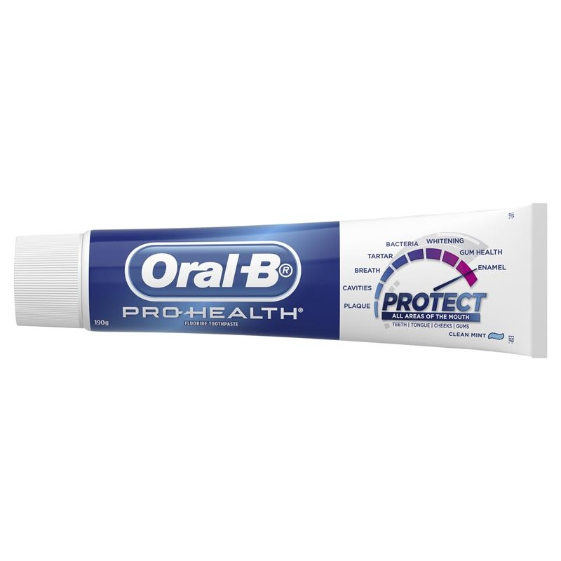 Oral B Pro Health Clean Mint Toothpaste 190g