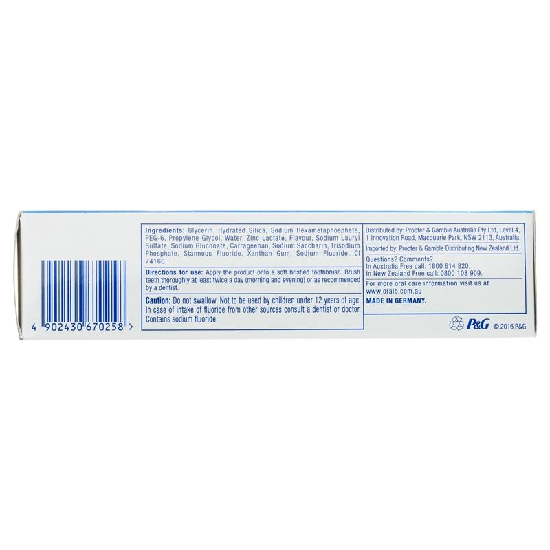 Oral B Toothpaste Pro Health Advanced Deep Clean 110g