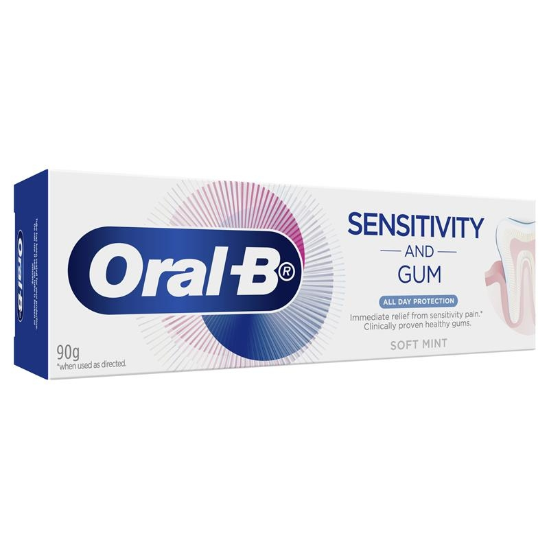 Oral B Toothpaste Sensitivity and Gum All Day Protection 90g