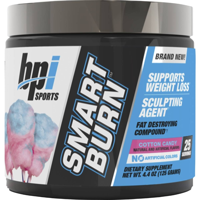 Bpi Smart Burn 25 Serve Cotton Candy 125g