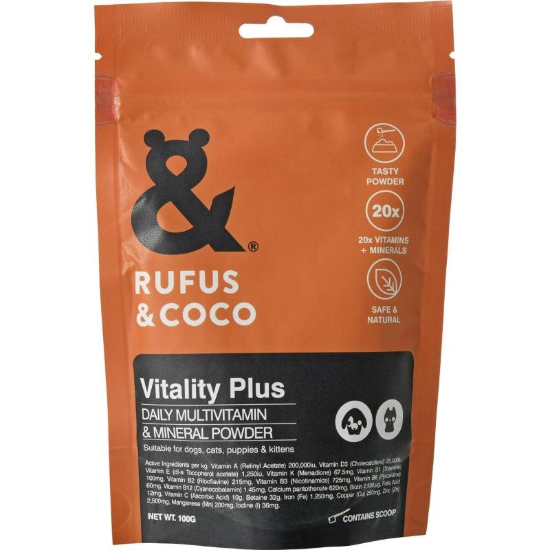 Bột dinh dưỡng - Rufus & Coco Vitality Plus 100g