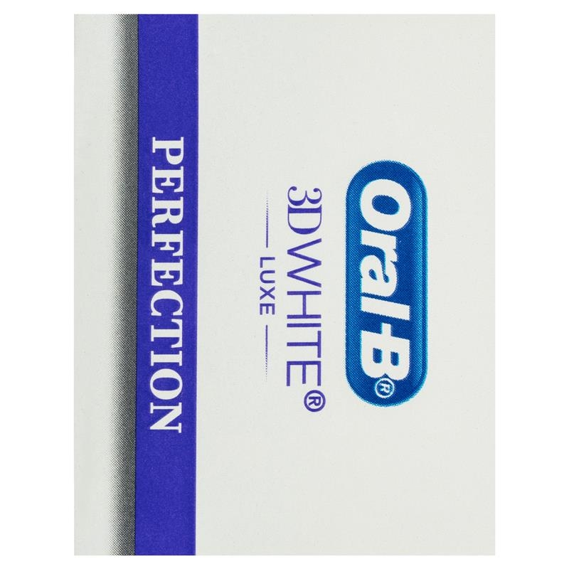 Oral B Teeth Whitening Toothpaste 3D White Luxe Perfection 95g