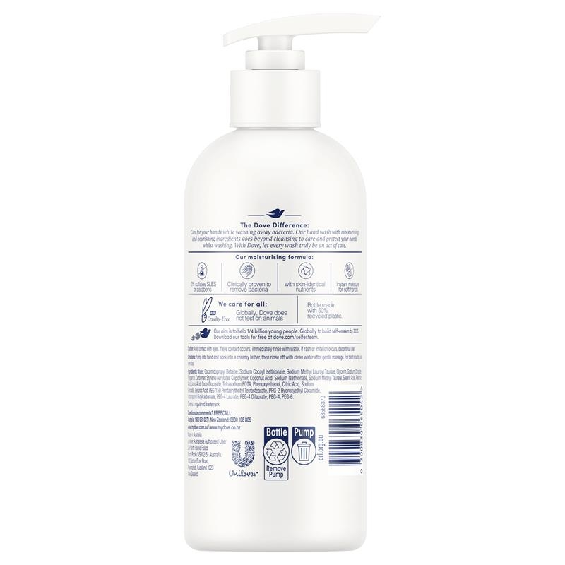 Dove Hand Wash Care & Protect Refreshing Care Cucumber & Green Tea 330ml