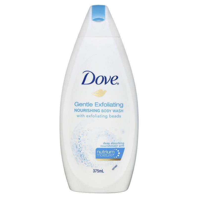 Dove Body Wash Gentle Exfoliating Body Wash 375ml