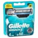 Gillette Mach 3 Cartridges 4 Pack