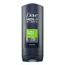 Dove Mens Body Wash Extra Fresh 400ml