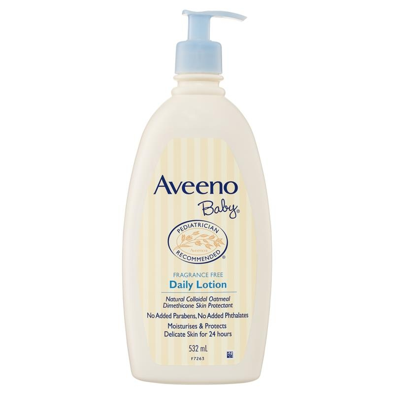 Aveeno Baby Daily Moisture Fragrance Free Lotion 532mL