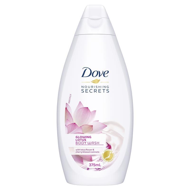 Dove Nourishing Secrets Glowing Lotus Body Wash 375ml