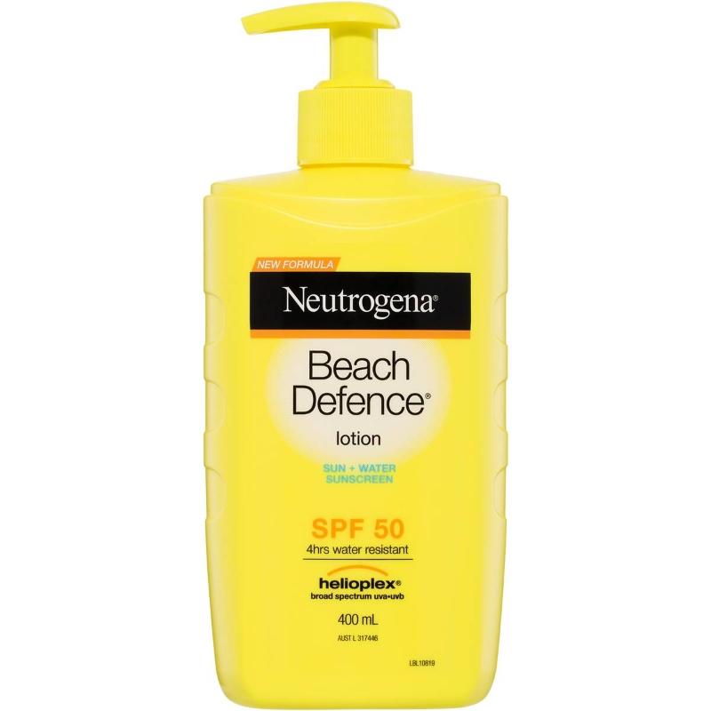 Neutrogena Beach Defence Lotion Spf 50 400ml