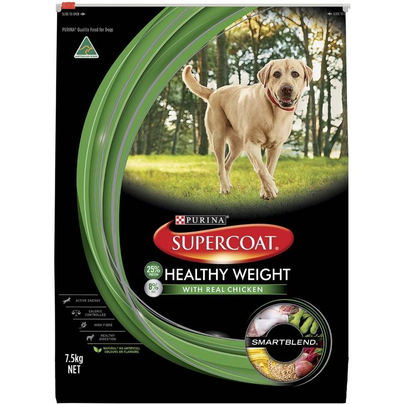 Thức ăn cho chó trưởng thành Supercoat Trọng lượng khỏe mạnh 7,5kg