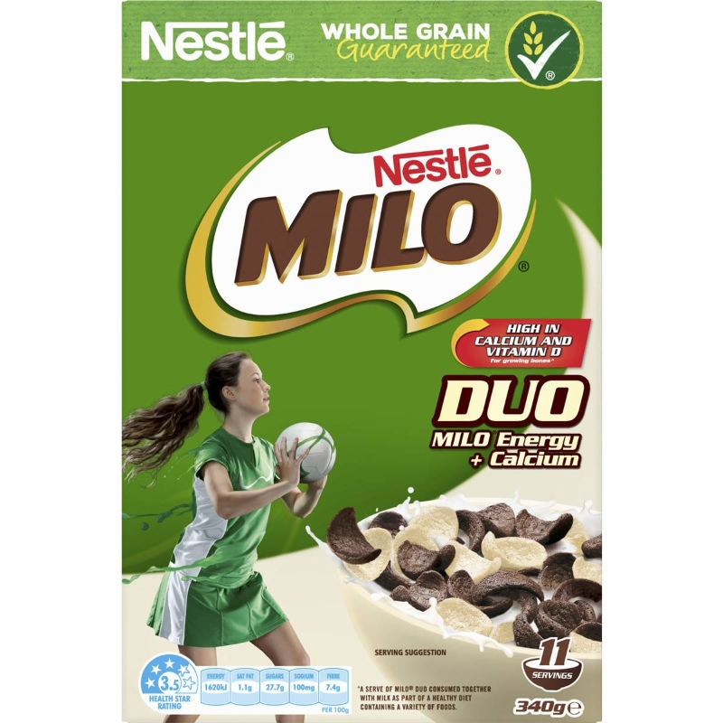 Nestle Milo Duo 340g