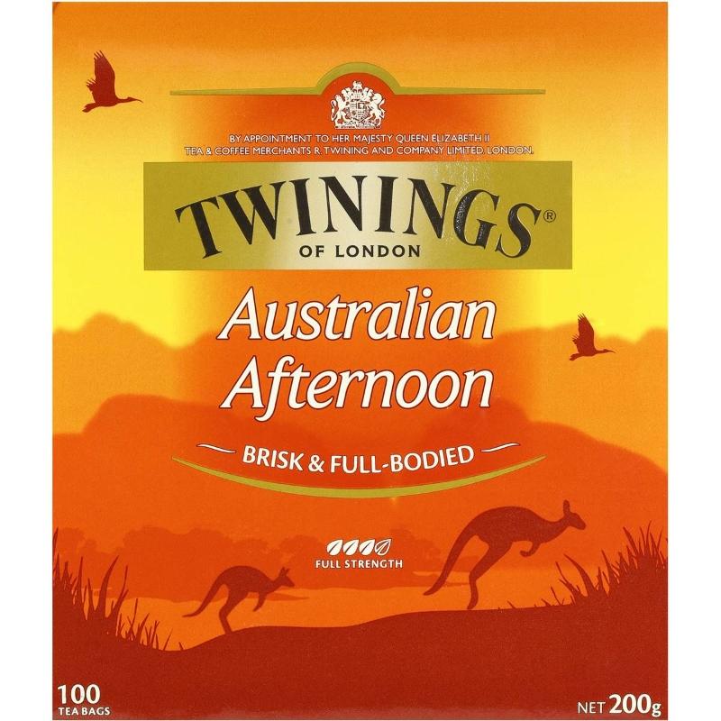 Túi trà chiều Twinings Úc 100 gói