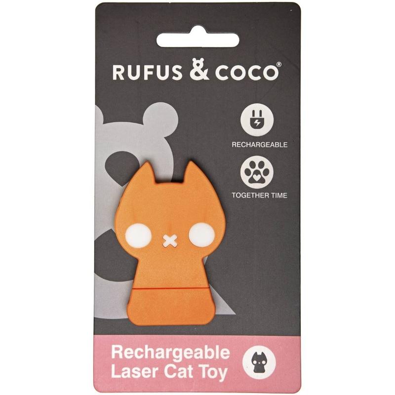 Đồ chơi cho mèo Rufus & Coco Laser Cat Toy each