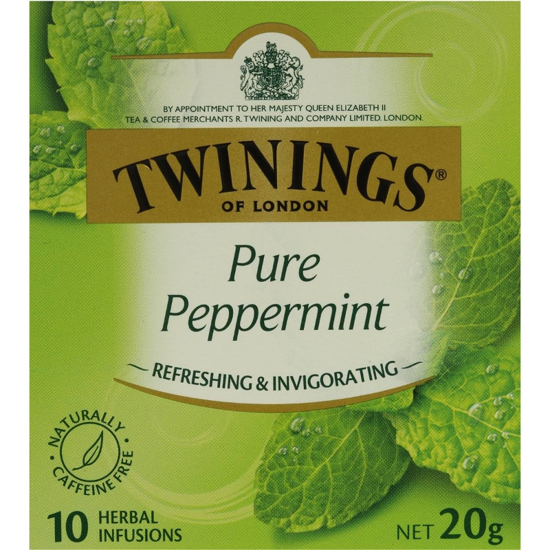 Túi trà bạc hà nguyên chất Twinings 10 gói