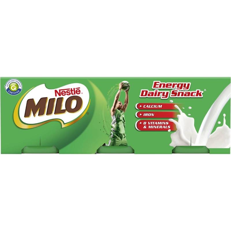 Nestle Milo Dessert Energy Snack 6 gói