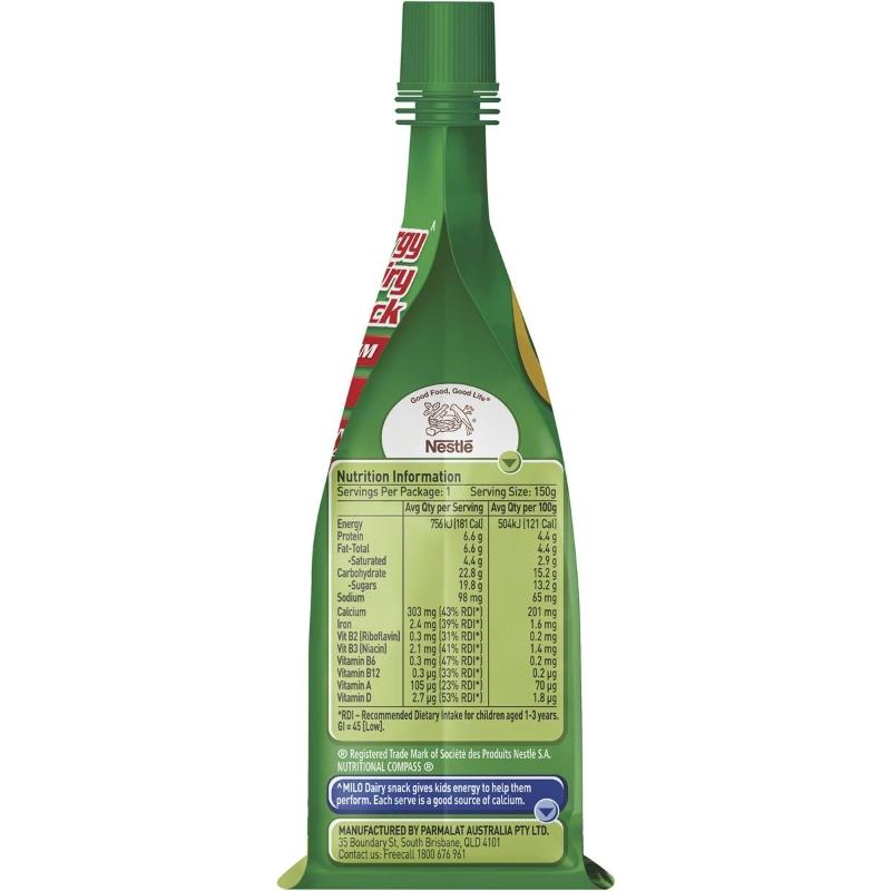 Hộp Snack Sữa chua Nestle Milo 150g