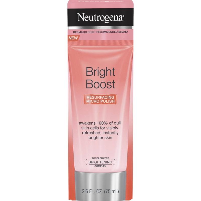 Kem tẩy tế bào chết - Neutrogena Bright Boost Resurfacing Micro Polish 75ml