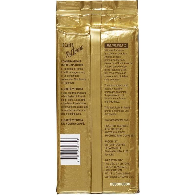 Cà phê xay Vittoria Espresso 500g