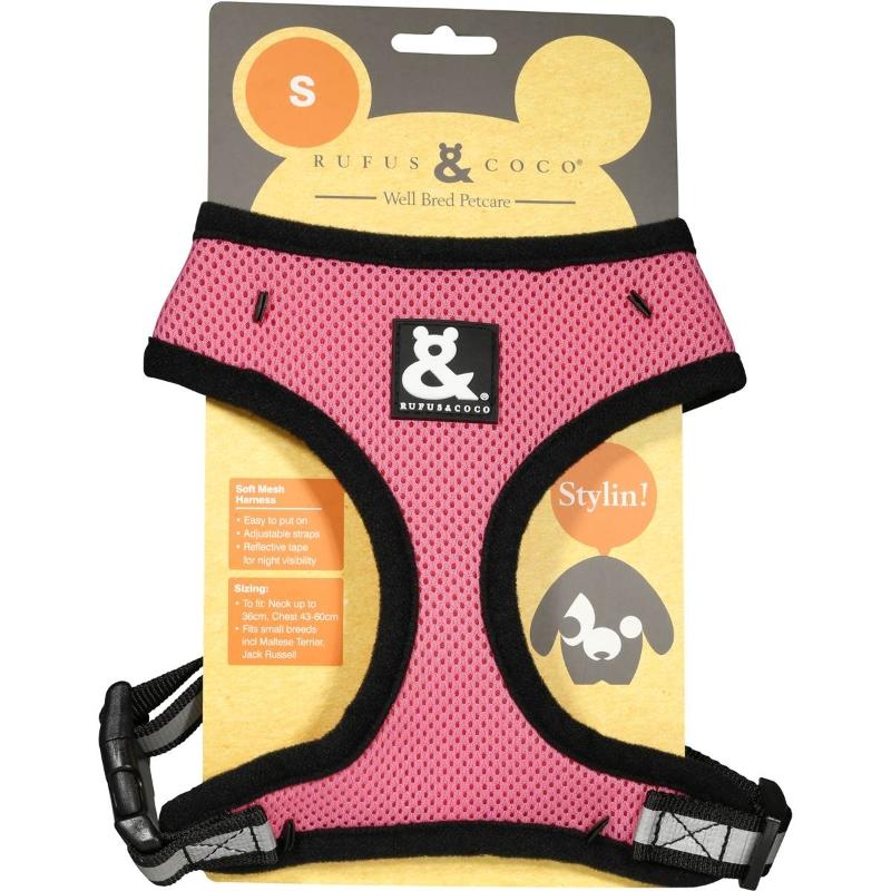 Địu cho thú - Rufus & Coco Soft Mesh Dog Harness Small each