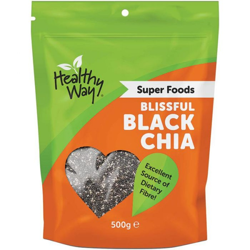 Hạt chia - CW Healthy Way Blissful Black Chia Seed 500g