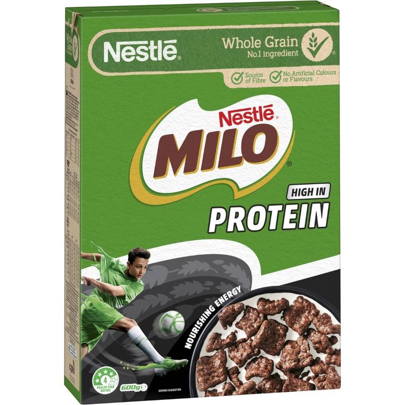 Protein ngũ cốc Nestle Milo 600g