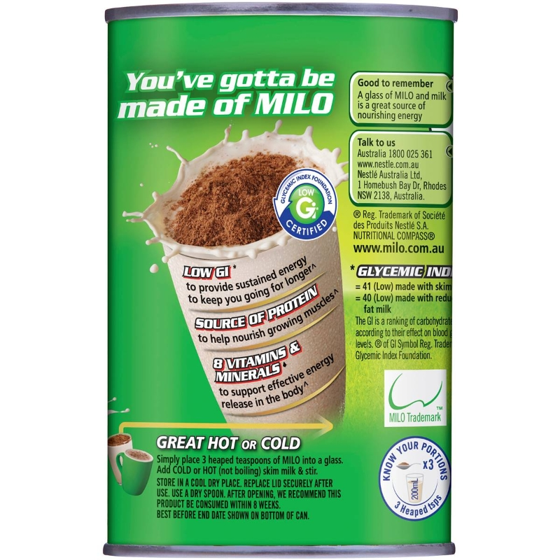 Nestle Milo Choc-malt 200g
