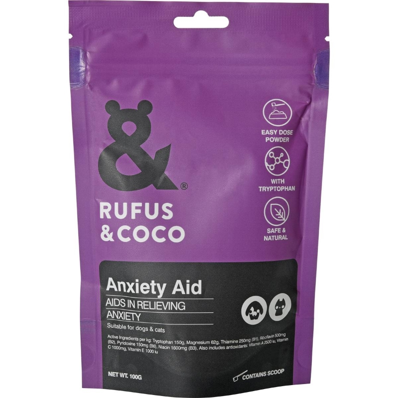 Bột dinh dưỡng - Rufus & Coco Anxiety Aid 100g