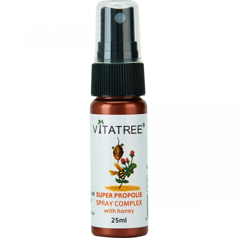 Xịt họng keo ong - Vitatree Propolis Spray 25ml
