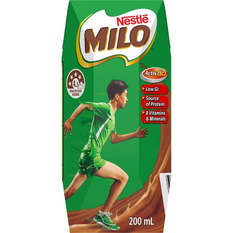 Milo uống liền 200ml x3 bịch