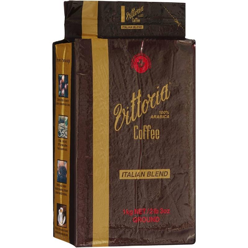 Cà phê xay Vittoria kiểu Ý Blend 1kg